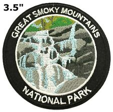 Great Smoky Mountains Embroidered Patch Iron / Sew-On Souvenir Travel Explore