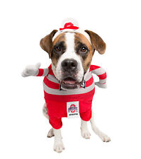 Ohio State Buckeyes Brutus Mascot Pet Dog Cat Jersey Shirt Clothes Costume