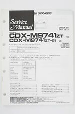 PIONEER cdx-m9741zt/m9741zt-91 CD Player Service-Manual/Schema elettrico Diagram/o98