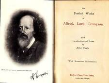 TENNYSON Alfred, The Poetical Works of Alfred, Lord Tennyson
