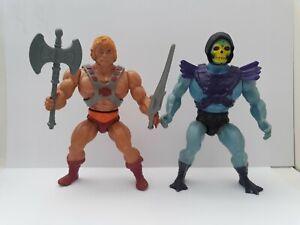 Masters of the Universe Rare Estrela He-man & Skeletor Made in Brazil MOTU