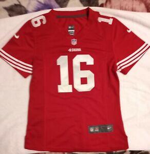 Official NFL/NIKE On Field San Francisco 49ers Joe Montana #16 Kids Large Jersey