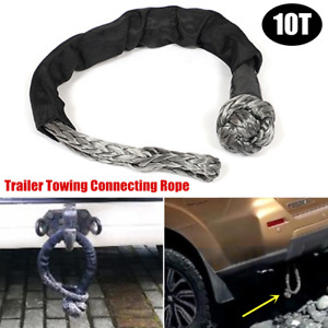 10T Car ATV Offroad Trailer Rescue Towing Rope Towbar Connecting Winch Pull Line