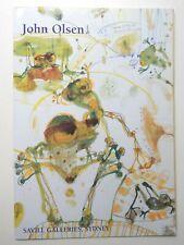 AUSTRALIAN ART - JOHN OLSEN - A SIGNED PERSONAL LETTER FROM THE ARTIST  20-10-93