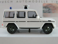 """Busch 51415 Mercedes-Benz G-Klasse (1990) """"Feldjäger"""" in weiß 1:87/H0 NEU/OVP"""