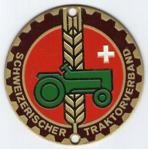 Targa smaltata Schweizerischer Traktorverband (Svizzera)