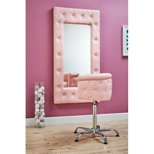 Ayala KID styling unit and Lux chair with Swarovski crystals in Pink, Ex - Show.