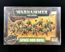 OOP NIB Space Ork Boyz Warhammer 40k Rare Find!!