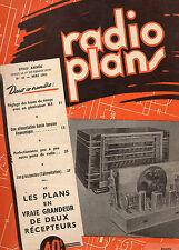 Revue Radio Plans - N° 43  - Mai 1951   - Postes récepteurs de Radio