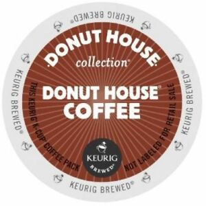 Donut House Donut Coffee 24 to 192 Keurig K cups Pick Any Size FREE SHIPPING