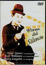 Heroes del silencio (Victor Moore - Bert Williams - Harry Langdon) (DVD Nuevo)