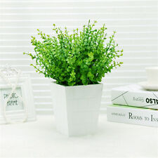 Home Decor Green Plant Lobular Plants Grass Office Decor Artificial Fake Plant