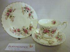 Royal Albert Lavender Rose Cup Saucer & Plate Trio VGC (WH_10752)