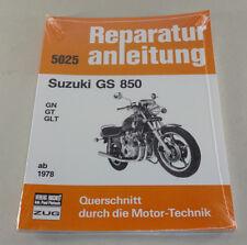 Reparaturanleitung Suzuki GS 850 - GN / GT / GLT - ab Baujahr 1978!