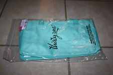 Thirty-one 31 All In Organizer Retired Turquoise Crosshatch New/Unused