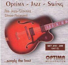 Optima/Maxima Chrome Flatwound Strings 1947EL 10-49