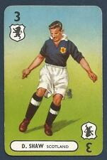 PEPYS INTERNATIONAL WHIST PLAYING CARD 1948 -#03-SCOTLAND-D.SHAW