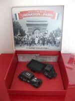coffret Renault AHN citroën traction FFI libération PARIS atlas militaire 1/43