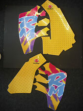 Suzuki RM 125 RM125 1992 Rad & Tank Decals Graphics Stickers Yellow/Yellow