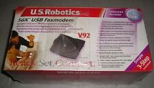 New Sealed USR US Robotics USR265633A 56K USB FaxModem Modem