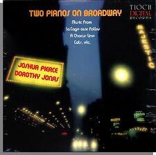 Joshua Pierce and Dorothy Jonas - Two Pianos on Broadway - New LP Record!