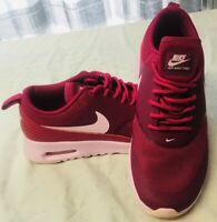 Womens NIKE AIR MAX THEA UK 4 - Sport Fuchsia Synthetic Trainers 599409 605