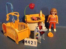 (M421) playmobil chambre bébé ref 3207 3965