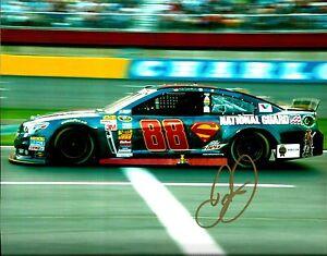 2014 Dale Earnhardt Jr. SUPERMAN DC COMICS NATIONAL GUARD Signed 8x10 Photo #1