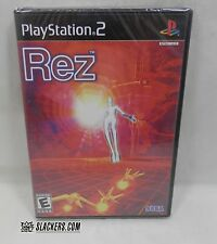 REZ (Sony PlayStation 2 2002) NEW Rare FACTORY SEALED Cyber Shooter EDM Mr Robot