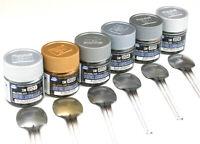 Mr. Hobby Gunze GSI Color Super Metallic SM201~SM206 (10ml) For Model Kit New