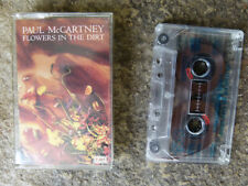 VINTAGE BEATLES CASSETTE WITH CASE - PAUL McCARTNEY, FLOWERS IN THE DIRT