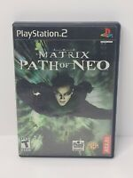 Matrix: Path of Neo (Sony PlayStation 2, 2005) Complete Tested