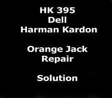 Pin-out color code,repair instructions,for Dell Harman Kardon HK395 PC Spea