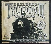 Railroad Tycoon II: Platinum (PC, 2002, PopTop Software) 100% Guaranteed VGC