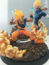 Re- Gk Resin Statue - Dragonball Z Kai - Goku Vs Manji Vegeta -In Stock
