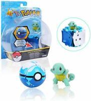Pokemon Throw Catch Pop Poke-ball Squirtle Figure Game Gift Toy Kids Boys Girls