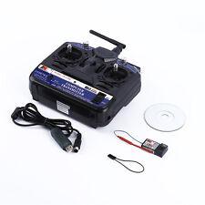 2.4G FLY SKY FS-CT6B 6 CH Channel Radio Model RC Transmitter Receiver Control