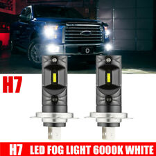 2 X H7 200W 6000K LED Car Auto Fog DRL Driving Car Head Light Lamp Bulbs White @