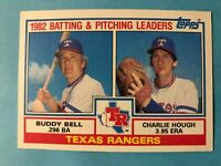 1983 Topps Texas Rangers Complete Team Set - 25 cards Bell/Hough/Parrish/Dent