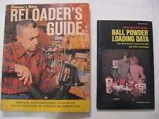 Shooters Bible Reloader's Guide 1965,  Winchester Ball Powder Loading Data 1975