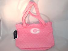 Georgia Bulldogs Pink Tote Bag Collegiate Collection