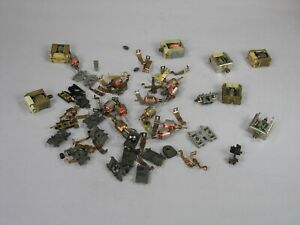 Used chassis parts, gears, bulkheads, pickups, motors lot for Tyco HO slot cars