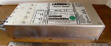 LAMBDA ALPHA 400W Power Supply 100-240VAC Input PLC H40978 Made in UK