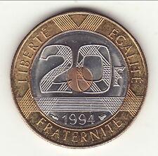 RARE 20 FRANCS MONT SAINT MICHEL 1994 ABEILLE  FDC