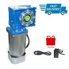 Ac Electric Worm Geared Motor 120w 110220v 50hz With Speed Controller Low Speed