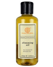 Khadi Herbal Slimming Oil Burn Down the Cellulite and  Reduce Extra fat -  210ml