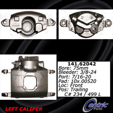 Centric Parts 142.62042 Front Left Rebuilt Brake Caliper With Pad