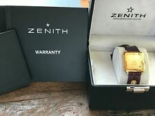 Zenith BVB 848862 Automatic 670 Gold Rectangle