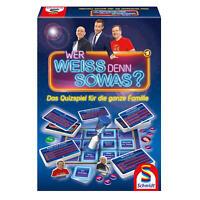 Schmidt Spiele Wer Weiss Denn Sowas Das Quizspiel Quiz Spiel 2 bis 10 Spieler