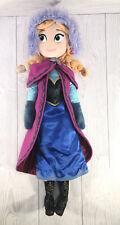 "Disney Princess Anna Frozen 20"" Doll Plush Disney Store Toy Soft"